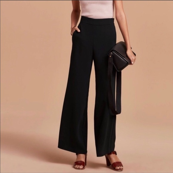 Aritzia Wilfred Halley high waisted pants Grey